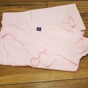 Light pink scrubs